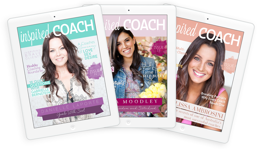 inspired COACH Magazine
