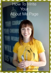 How To Write Your About Me Page