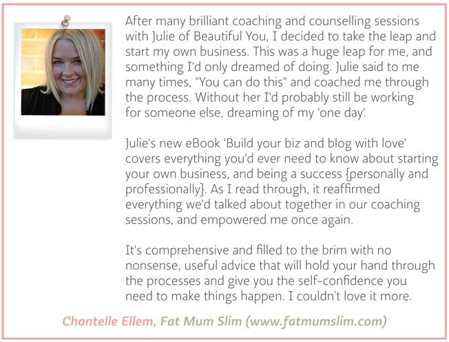 Testimonial - Chantelle Ellem - Fat Mum Slim