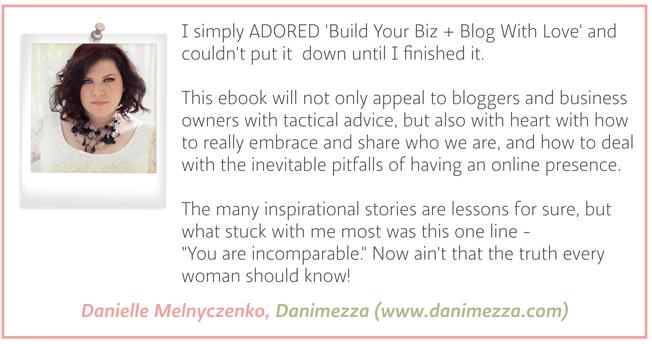 Testimonial - Danielle Melnyczenko - Danimezza