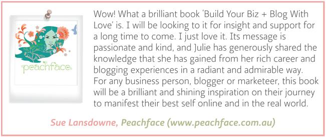 Testimonial - Sue Lansdowne - Peachface