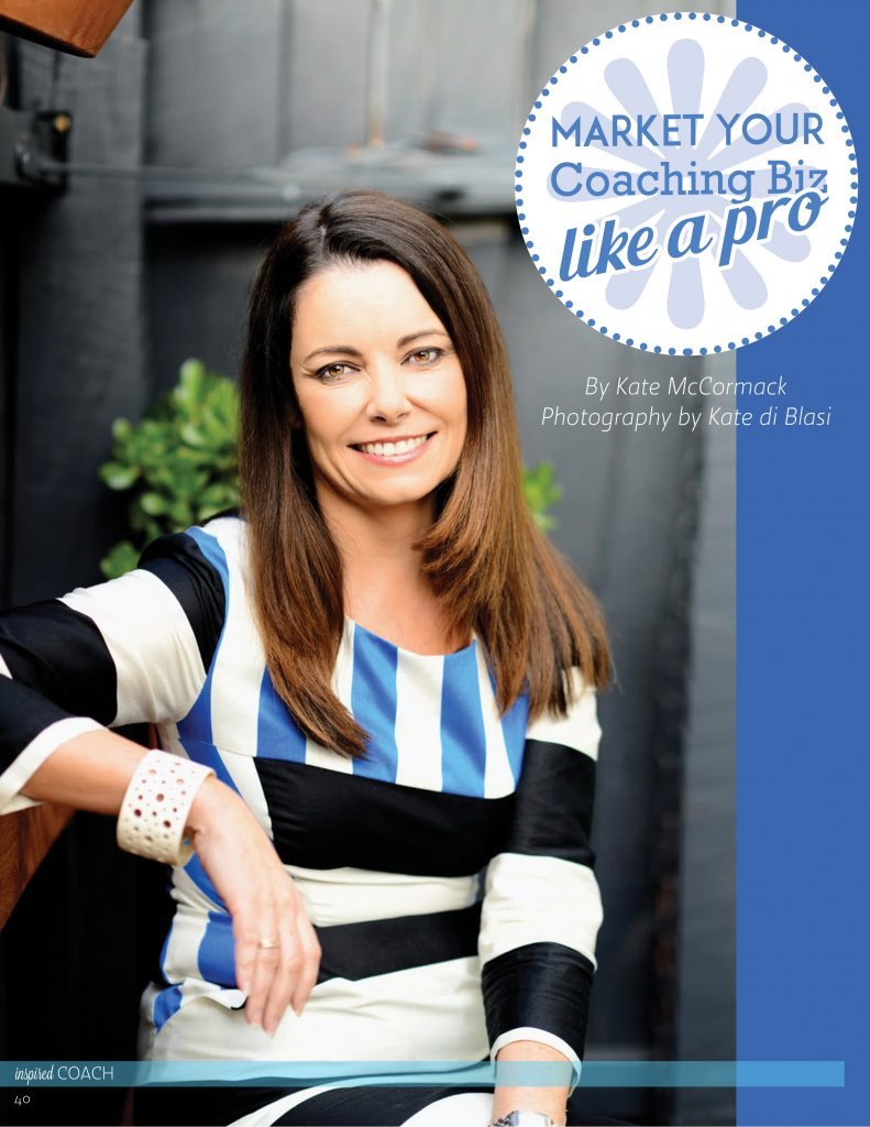 Kate McCormack Marketing Business Coach