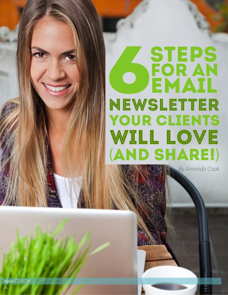 Life Coach Newsletters