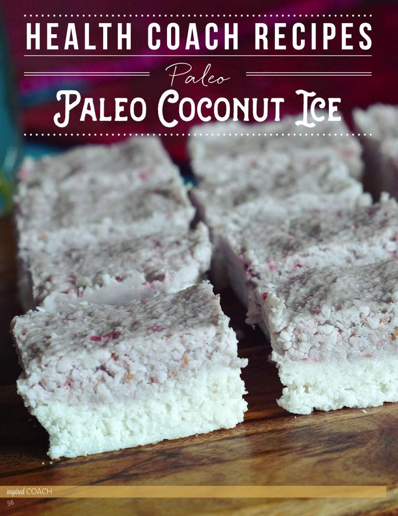 Paleo Coconut Ice MerryMaker Sisters