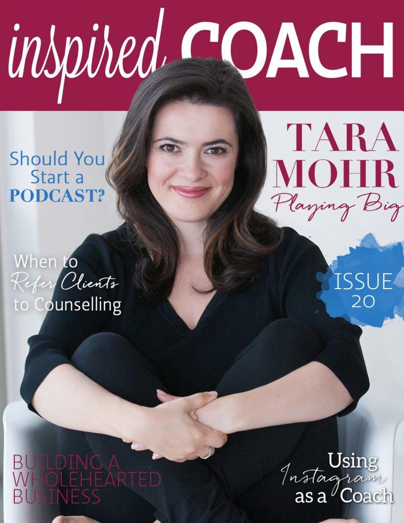 Magazine Cover Tara Mohr