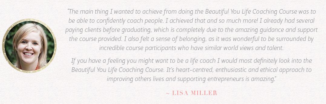 Lisa-testimonial