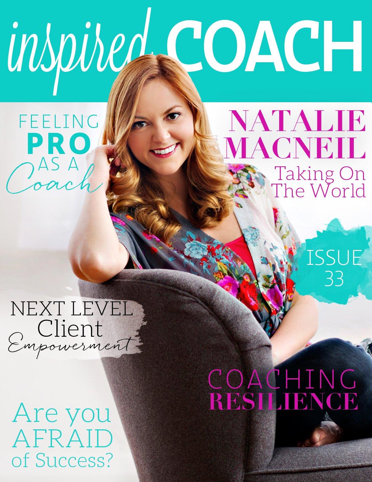 inspired COACH Magazine with Natalie MacNeil