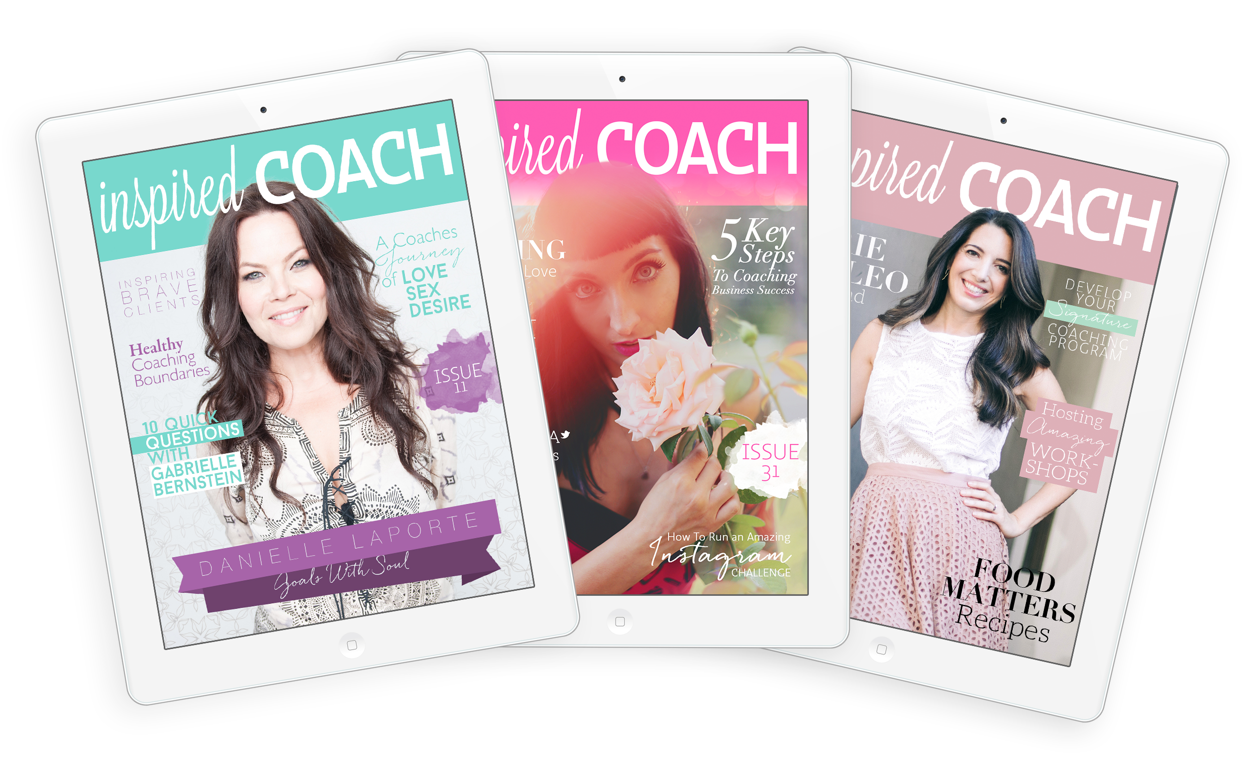 inspired COACH Magazine