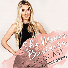 Carrie Green Podcast Media