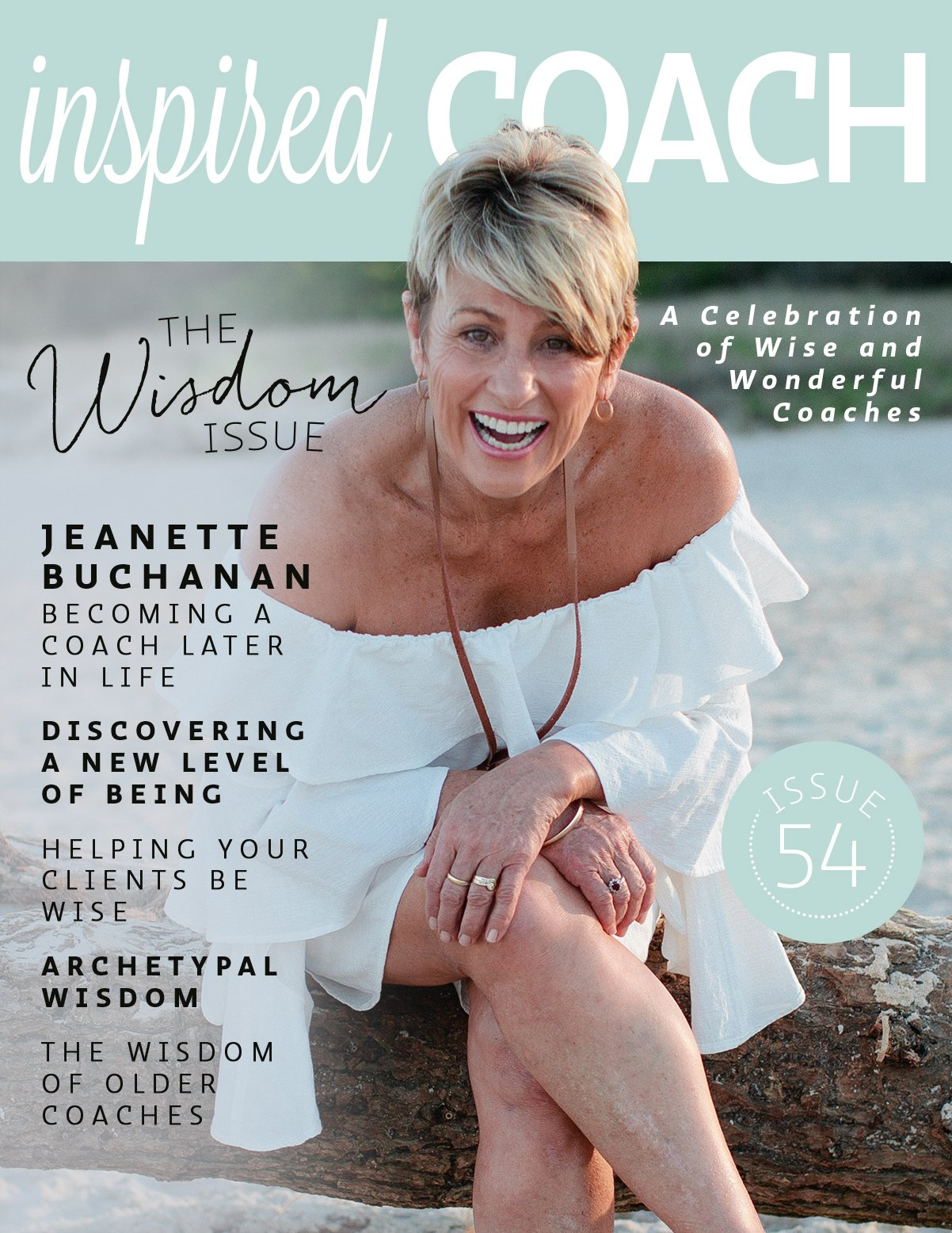 inspired COACH Magazine with Jeanette Buchanan