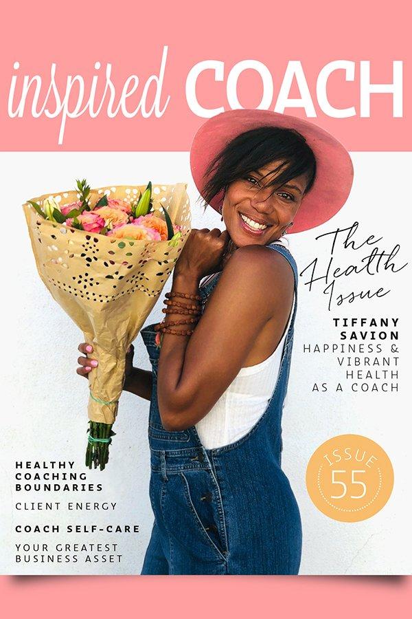 inspired COACH Magazine with Tiffany Savion