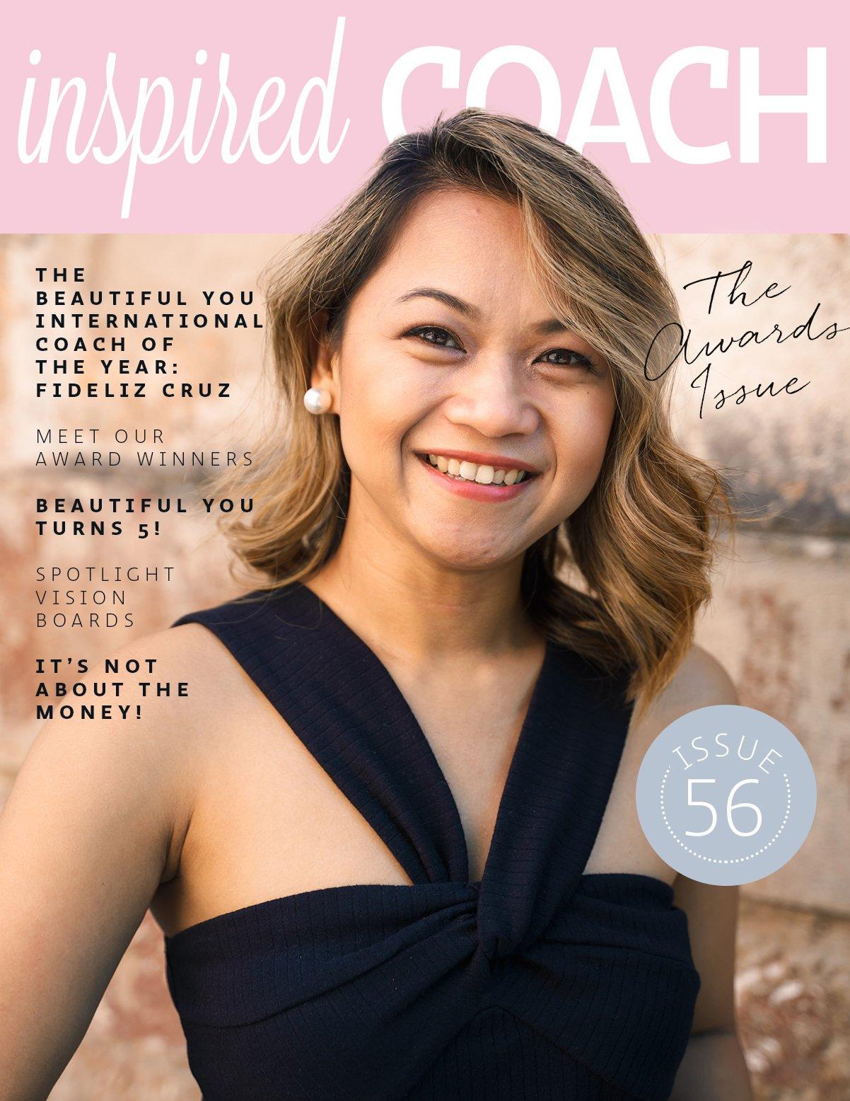 inspired COACH Magazine with Fideliz Cruz