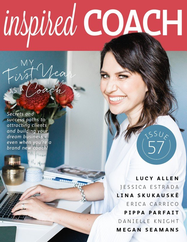 inspired COACH Magazine with Lucy Allen