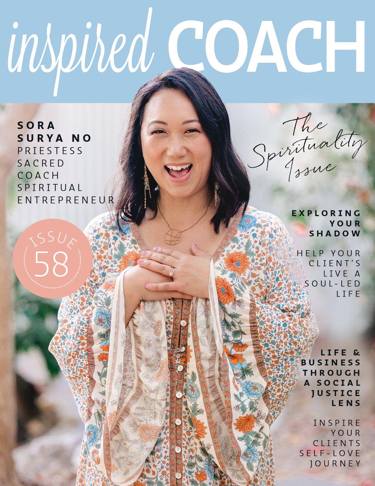 inspired COACH Magazine with Sora Surya No